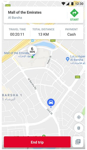 Careem Complete ride